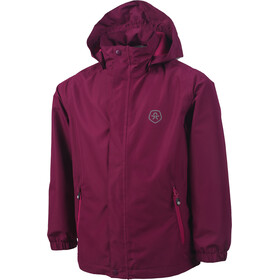 Color Kids Niffer AWG Rain Jacket Girls Magenta Purple